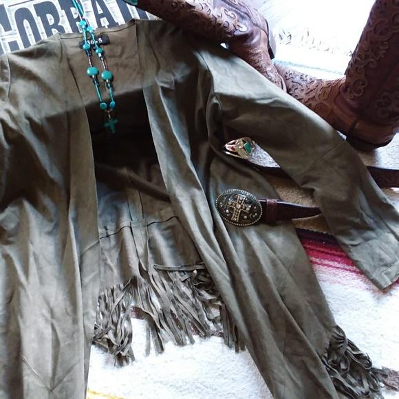 36.5 Jackets & Blazers - 36.5 Fringed Jacket